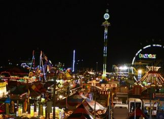 Strawberry Festival Midway