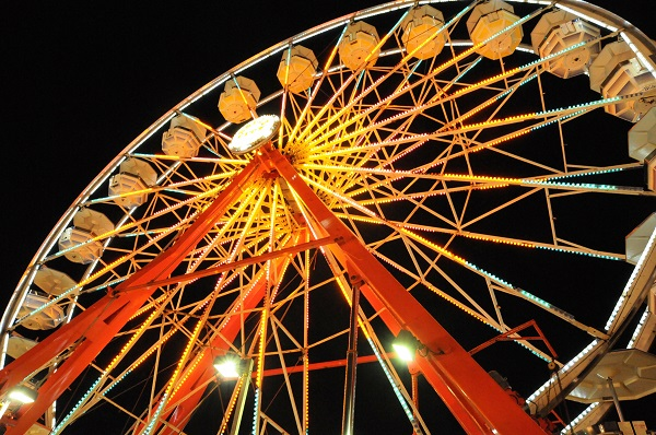 Take a spin on the Midway!