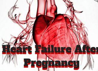 heart failure after pregnancy