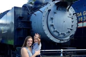 Train ride at the Florida Railroad Museum