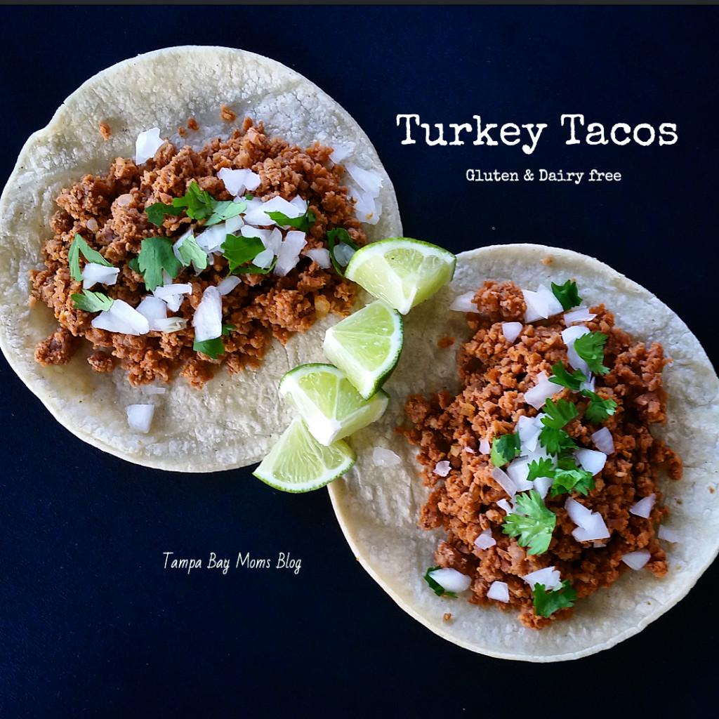 Dinner Done! {Turkey Tacos Recipe}