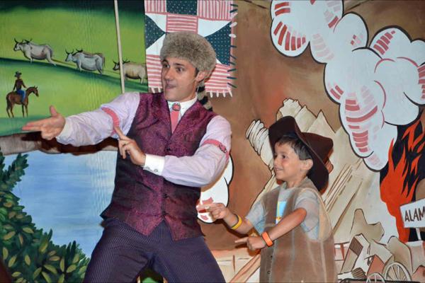 Onstage at Disney's Hoop-De-Doo Revue