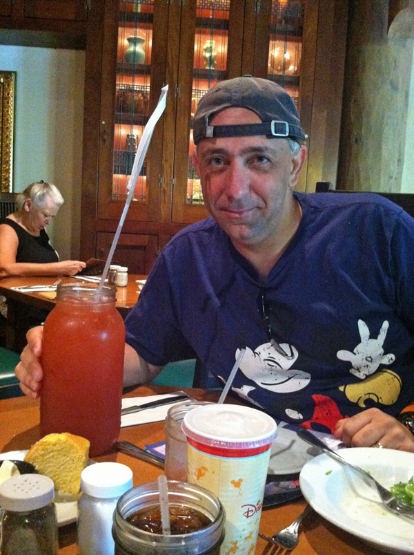 Fun at Whispering Canyon Cafe at Disney's Wilderness Lodge