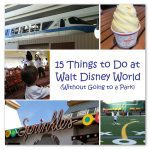 15 Things to Do at Walt Disney World:: Without Going to a Park