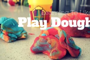 Learning to Like Play Dough image