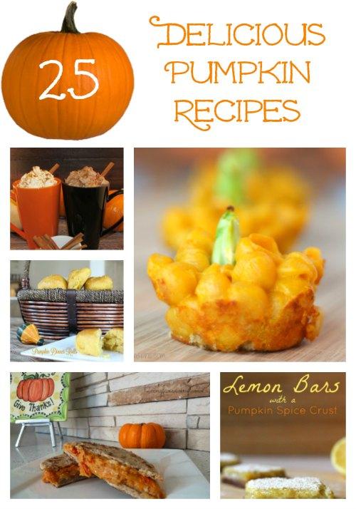25 Pumpkin Recipes on Tampa Bay Moms Blog