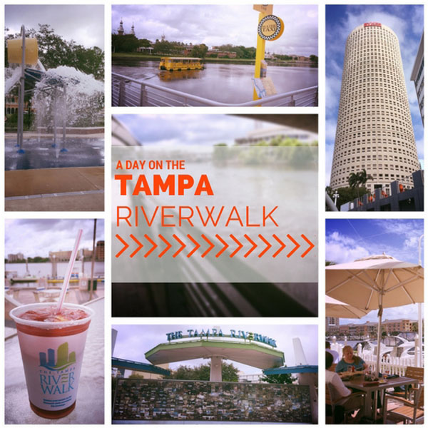 A Day on the Tampa Riverwalk