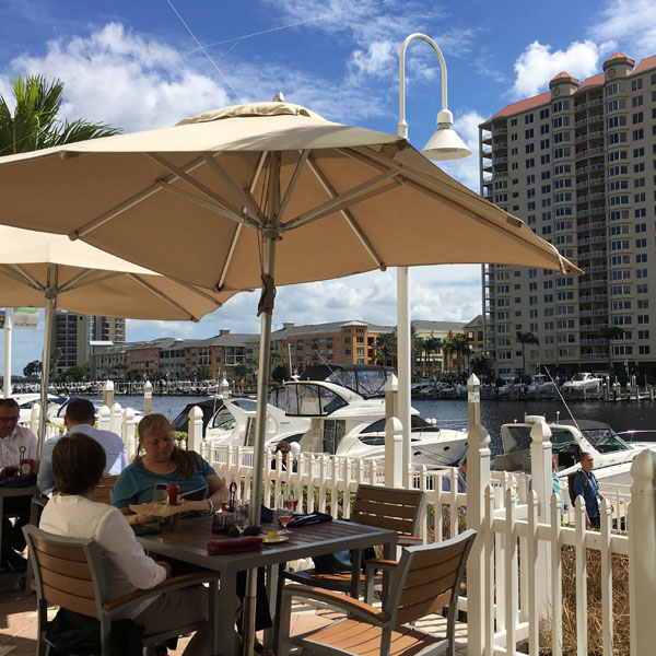 The Tampa Marriott Waterside Cafe