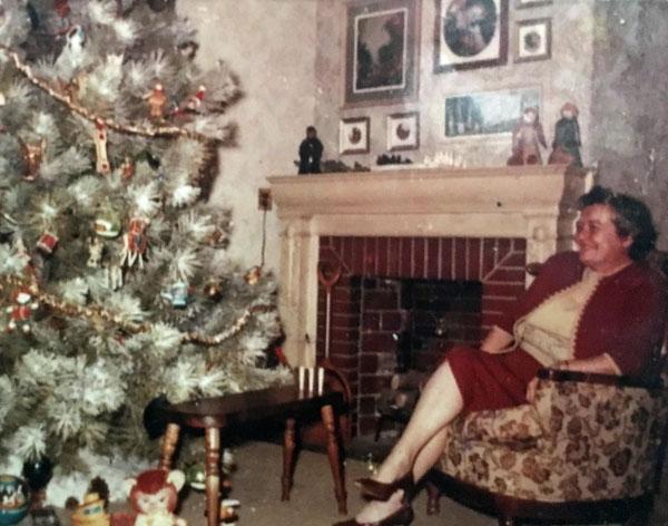 Grandmother at Christmas