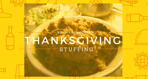 My Grandmother's Stuffing