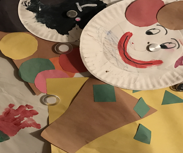Daycare arts and crafts