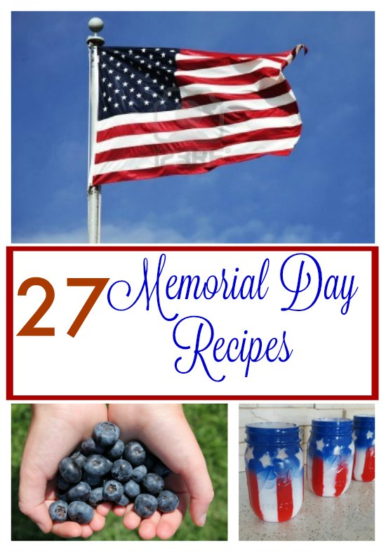 27 Memorial Day Recipes - Eats, Drinks, Treats, & Crafts on Tampa Bay Moms Blog