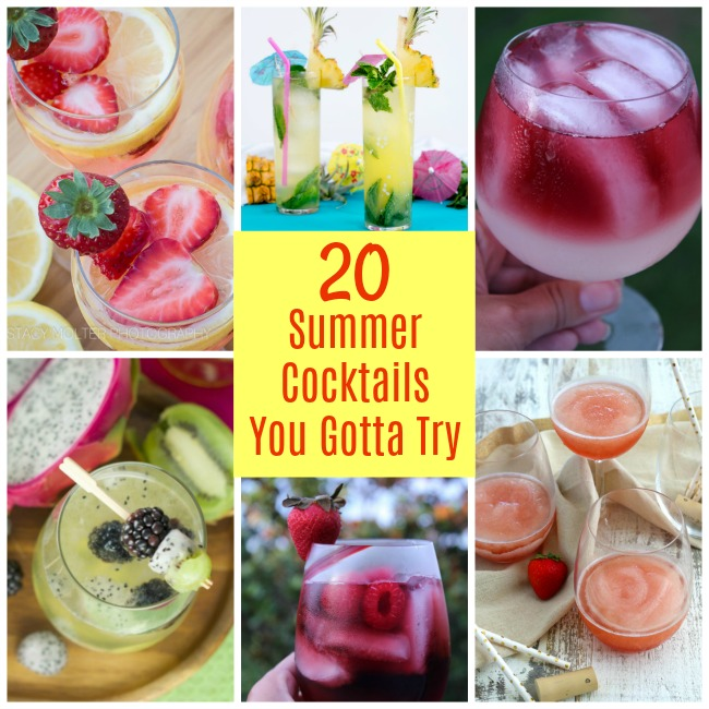 20 Summer Cocktail Recipes You Gotta Try - Tampa Bay Moms Blog