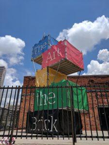 Art of the Brick entrance