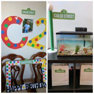 Sesame Street party decor ideas from Pinterest