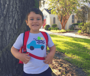 First Day Back at Tims Preschool Lutz FL