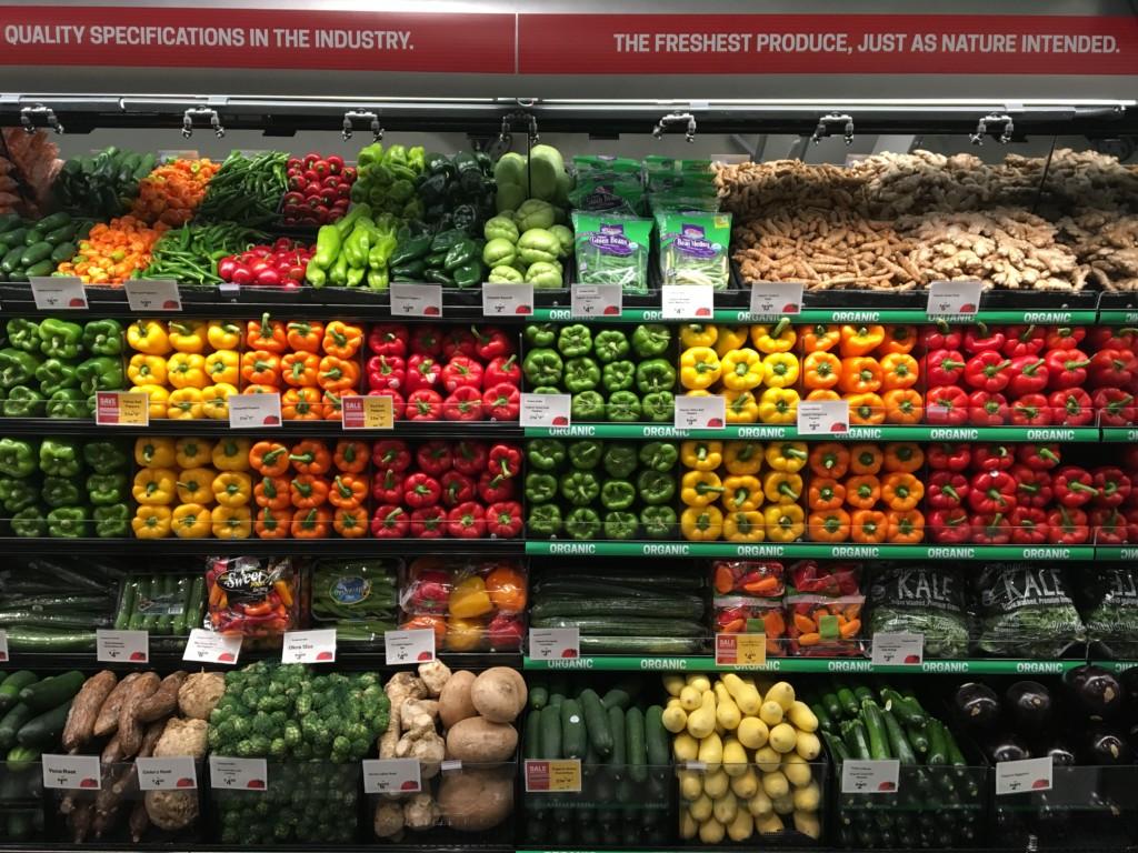 Organic Produce at Earth Fare