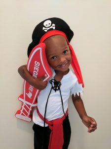kid's pirate costume