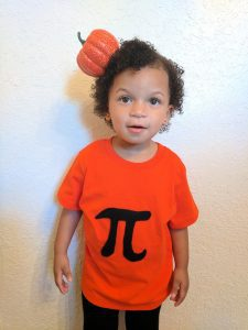 pumpkin pi costume