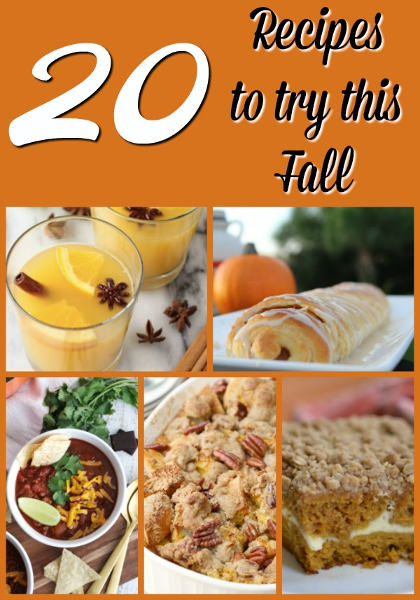 20 Fall Favorite Recipes You Have To Try! - Tampa Bay Moms Blog