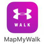 Map My Walk app