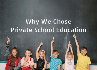 Why We Chose Private School Education