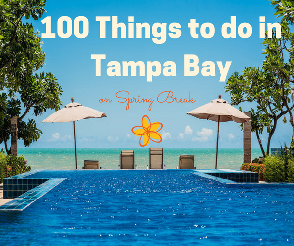 100 Things to do in Tampa Bay
