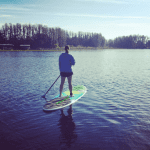 Peace on a Paddleboard: Finding My Me-Time Escape