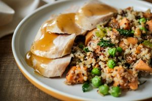 Eat Fresco's Turkey Quinoa Meal Plated