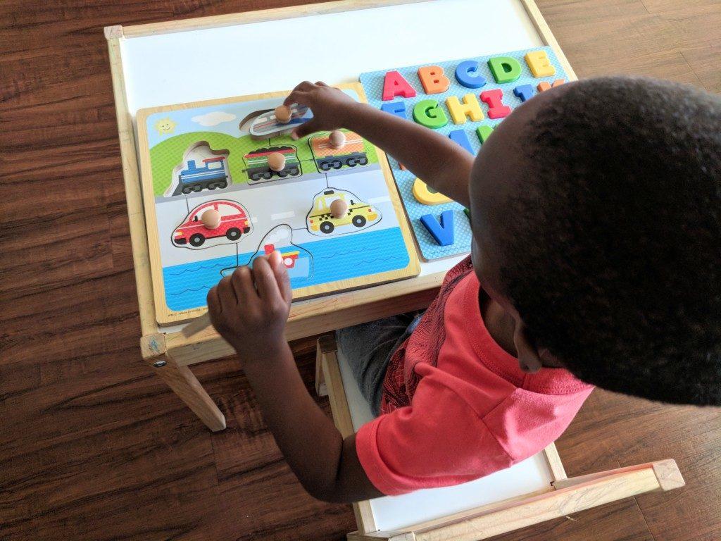 preschool board puzzles