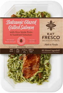 Eat Fresco Balsamic Glazed Grilled Salmon Package