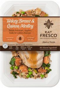 Turkey Quinoa Meal From Eat Fresco