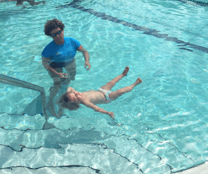 safe floating with Ms. Emma's Swim Academy in Tampa