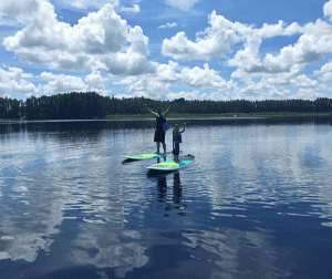 Parent bravely to raise adventurous kids