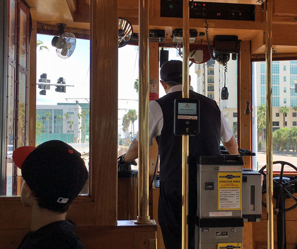 Taking the TECO Line Streetcar to Ybor City is a very Tampa thing to do.