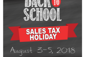 Back to School Sales Tax Holiday Weekend (1)