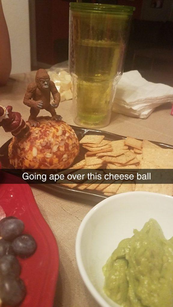 Ape Cheese Ball - Charcuterie