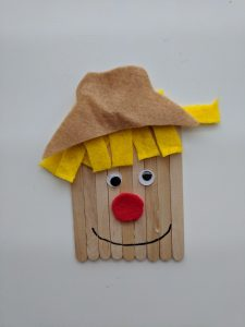 craft stick scarecrow