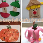 10 Easy Fall Crafts for Kids