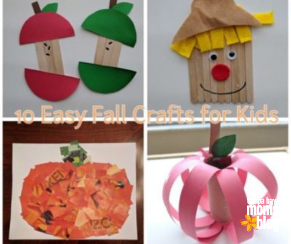 10 Fun And Easy Fall Crafts For Kids That Is Suitable For All Ages