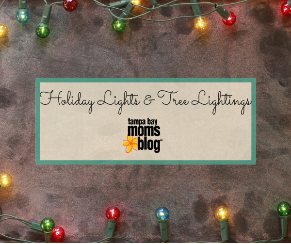 Guide To Holiday Light Displays And Tree Lightings In Tampa Bay