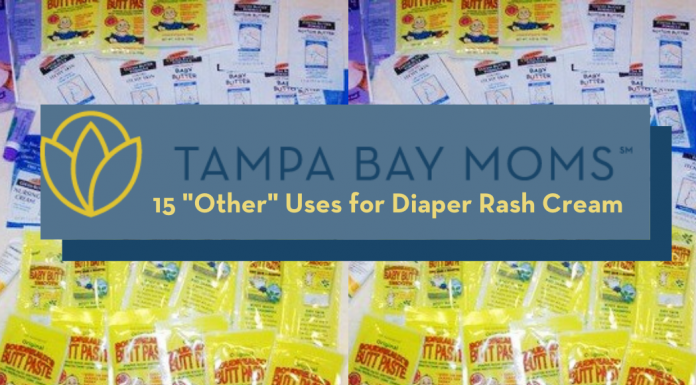 diaper rash cream packets