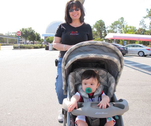 Disney Stroller Rules - Strolling into Epcot