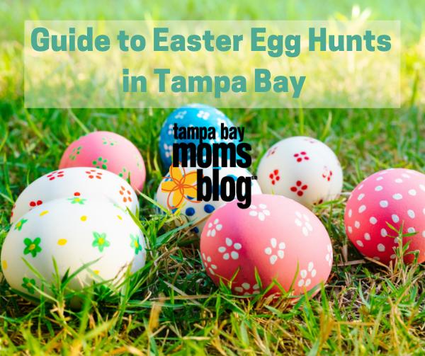 easter eggs in grass outside