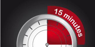 15 minute clock timer