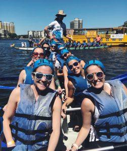 Junior League of Tampa Dragon Boat