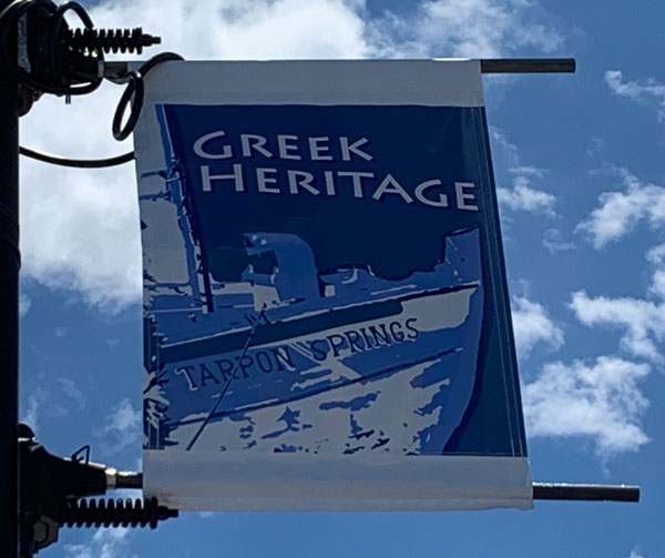 Tarpon Springs is the center of Greek culture in Tampa Bay.