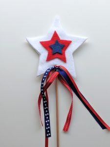 patriotic parade wand