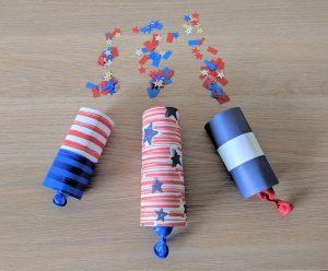 paper tube confetti popper