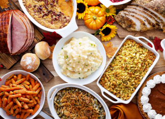 thanksgiving dinner foods